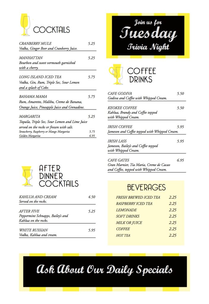 Bacalls Menu 6-2pg3