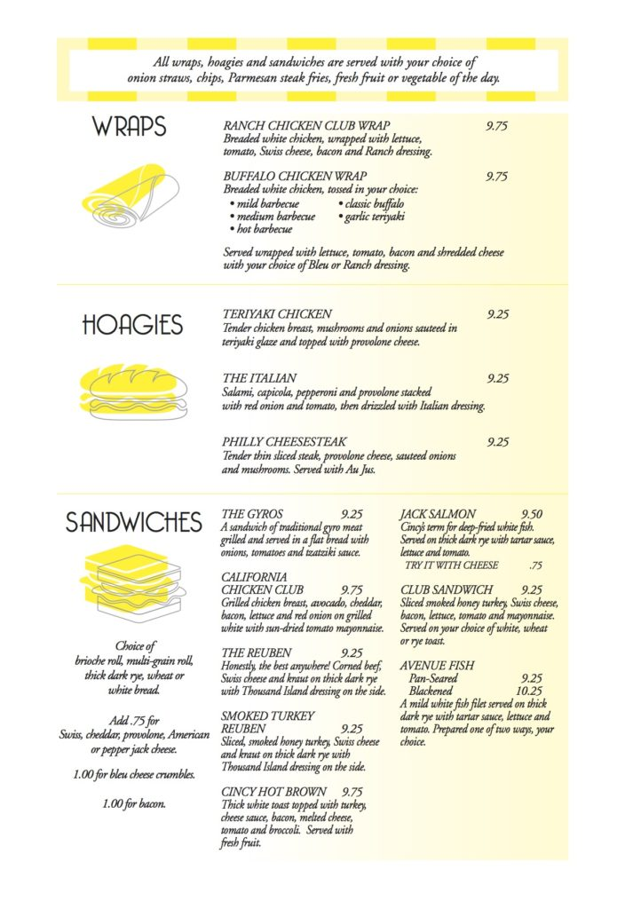 Bacalls Menu 6-2pg6